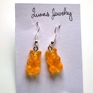 💐 gummy bear dangle earrings 💐
